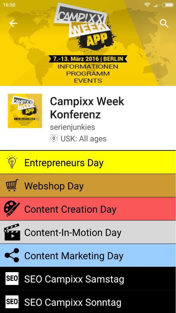 Campixx App 2016