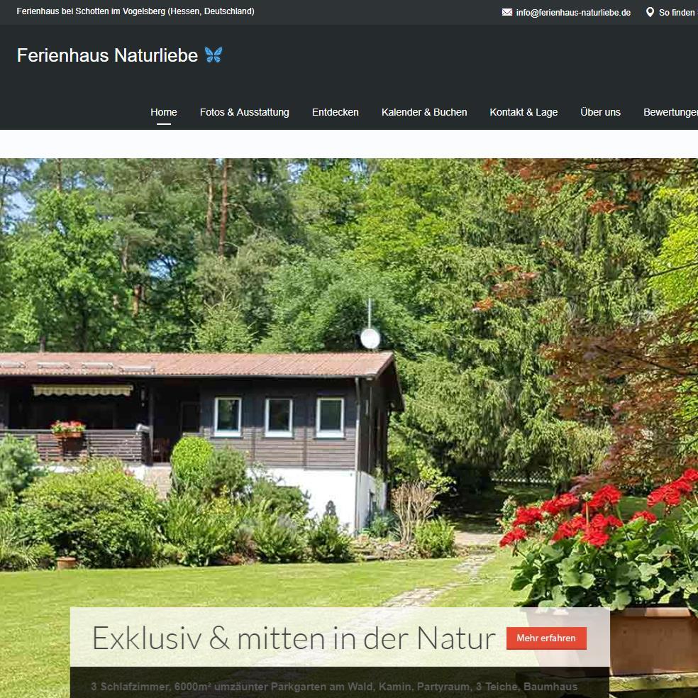 Ferienhaus Naturliebe