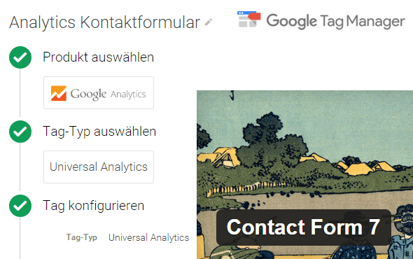 Google Tag Manager Contact Form 7 Tracking
