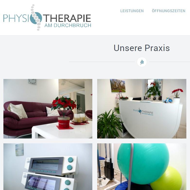 Physiotherapie am Durchbruch
