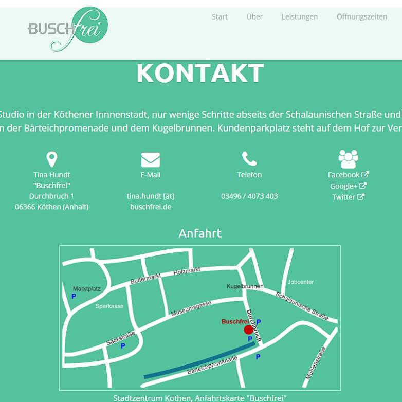 Portfolio: Buschfrei