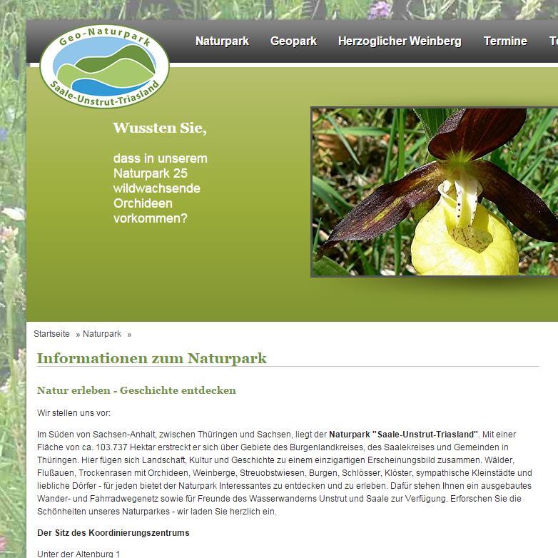 Portfolio: Naturpark Saale-Unstrut