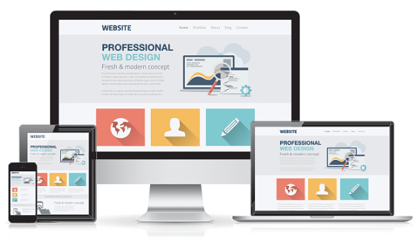 Professionelles Webdesign (responsives Layout)