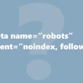 Robots: noindex,follow