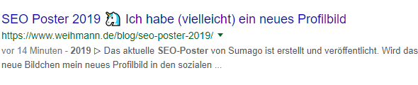 SEO-Poster 2019 Snippet