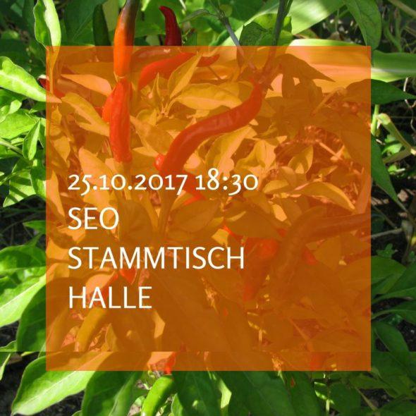 SEO Stammtisch Halle am 25.10.2017