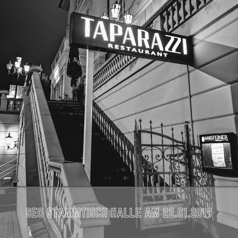 SEO Stammtisch Halle am 22.01.2019 im Taparazzi