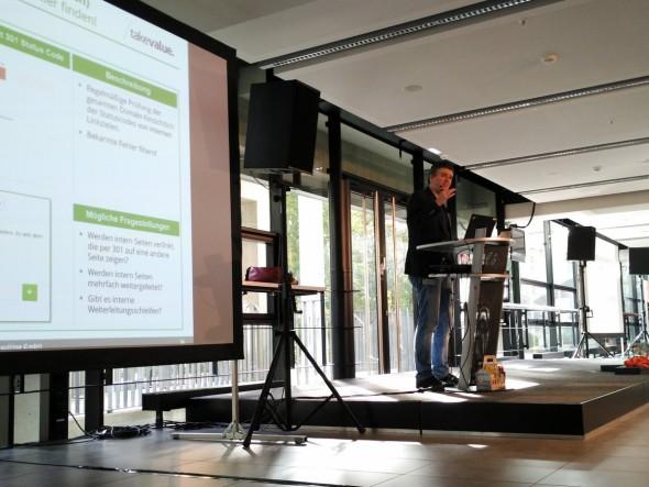 Klasse Vortrag von Jens Fauldrath beim SEODAY 2015