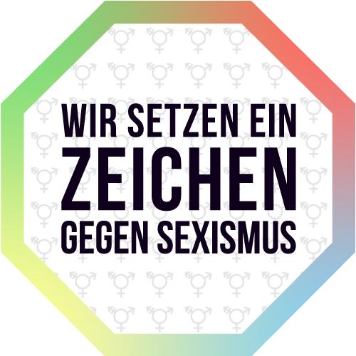 Wir setzen ein Zeichen gegen Sexismus