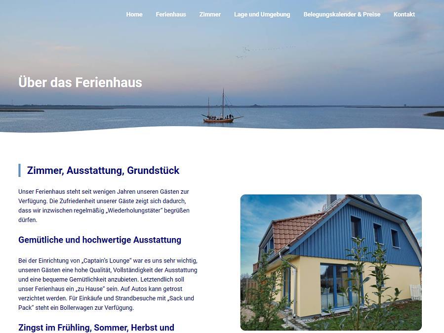 Ferienhaus Zingst - Captains Lounge