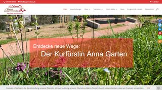 Screenshot: Homepage Stadt Augustusburg