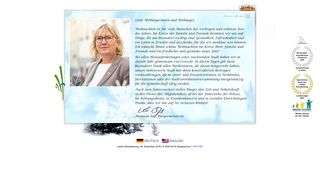 Screenshot: Homepage Stadt Werder